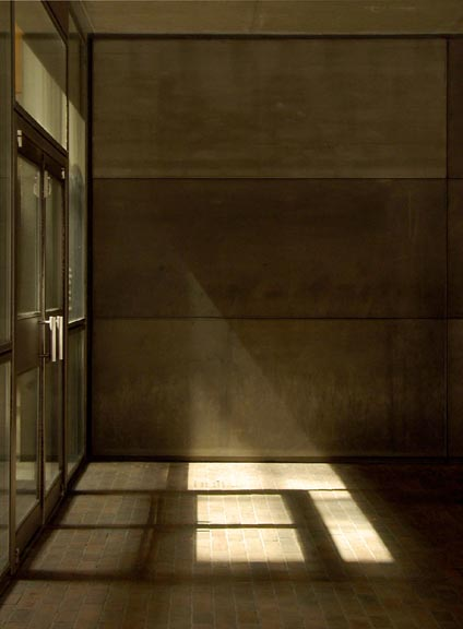 Yale7 ルイ・カーンによるイエール大学のBritish Art Gallery 1