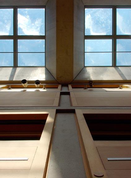 Yale8 ルイ・カーンによるイエール大学のBritish Art Gallery 1