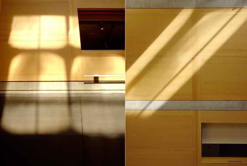 Yale9 ルイ・カーンによるイエール大学のBritish Art Gallery 1