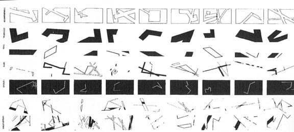 alphabet ダニエル・リベスキンド〜1. ベルリン・ユダヤ博物館