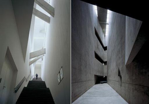 interior1 ダニエル・リベスキンド〜1. ベルリン・ユダヤ博物館