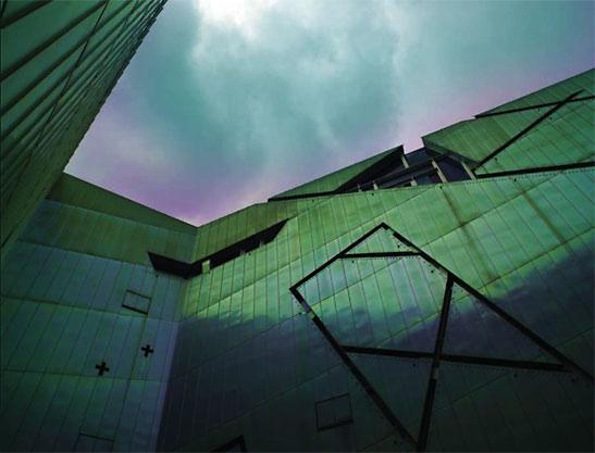 jewish museum11 ダニエル・リベスキンド〜1. ベルリン・ユダヤ博物館