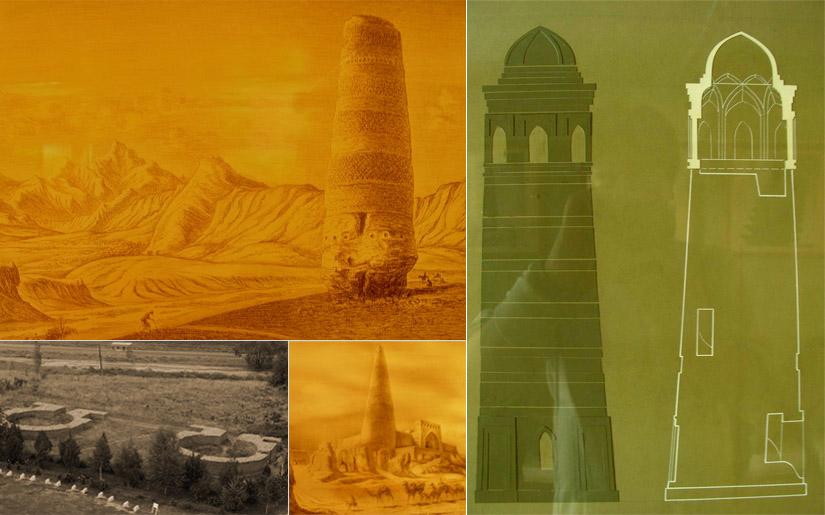 Combined シルクロードの風に立つブラナの塔