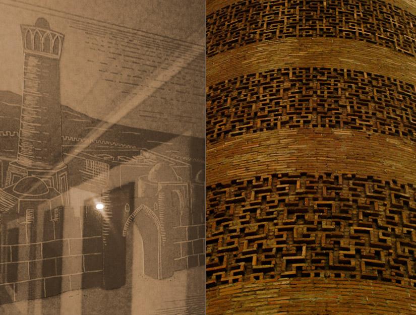 Combined6 シルクロードの風に立つブラナの塔