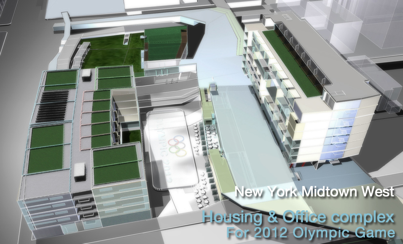 1. 2012 New York Olympic Housing project