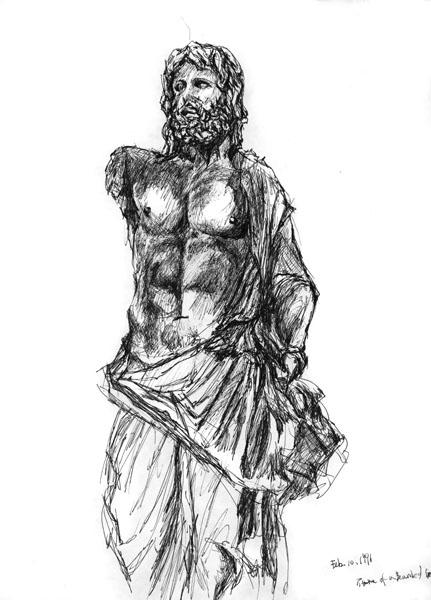 1. Greco-Roman Statue 1