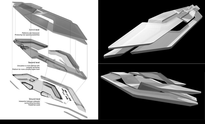 11. Axonometric & loop model