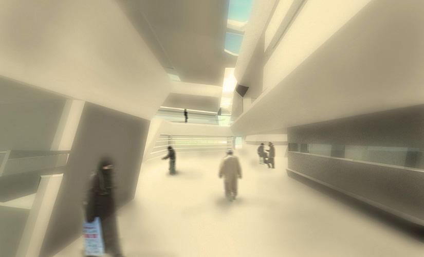 16. Interior near entrance