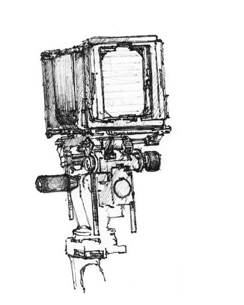 4. 4 x 5 Camera
