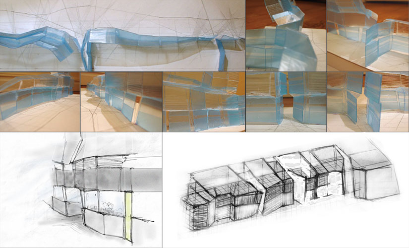 7. Study model & sketches