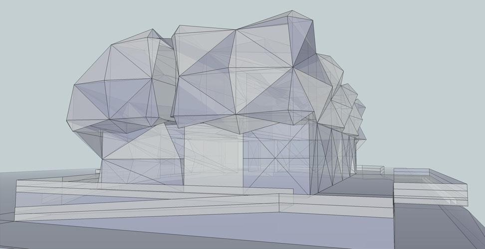 10. South facade